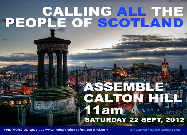 March For Independence Edinburgh City Places To See Edinburgh