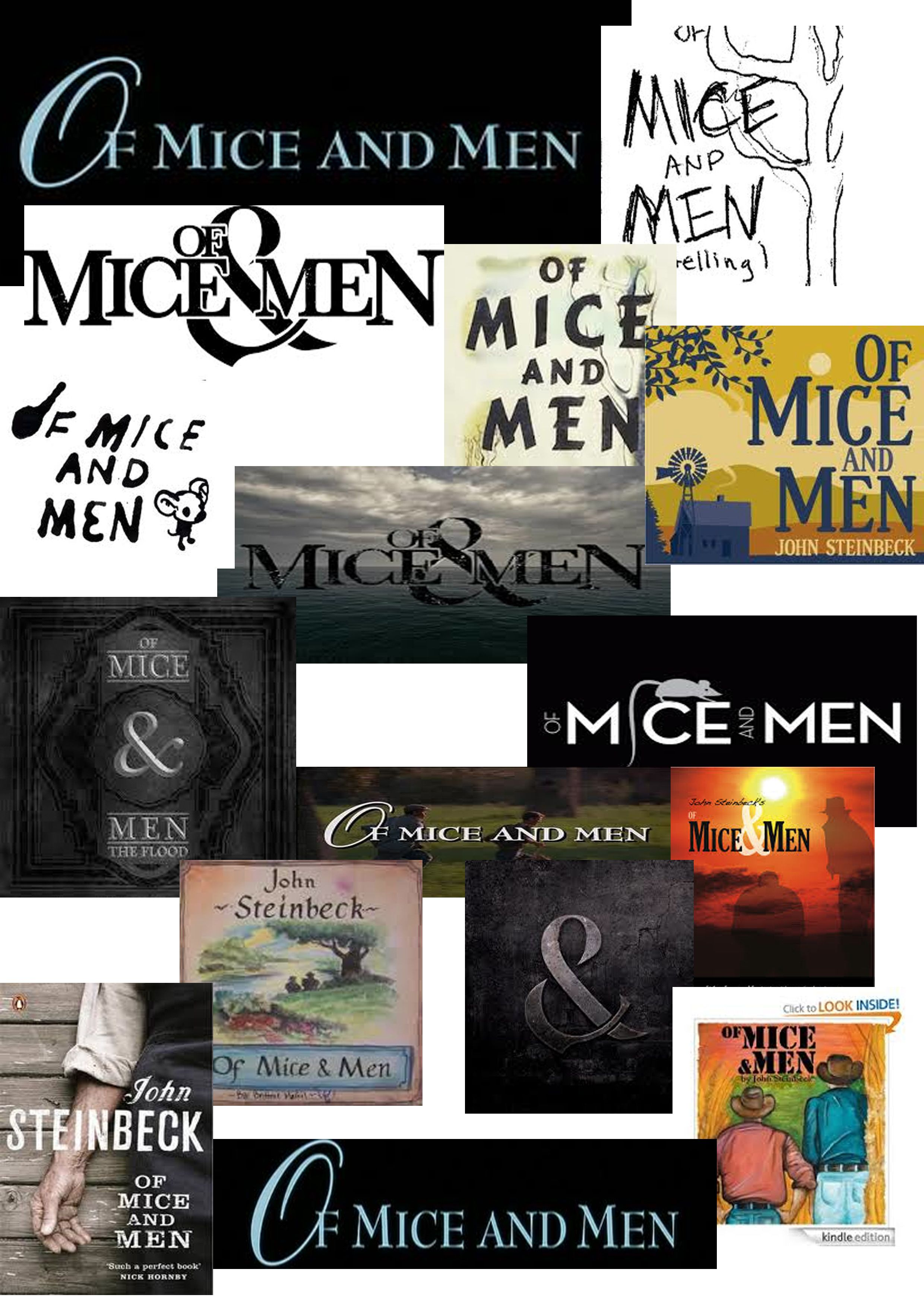 mice and men by john steinbeck essay