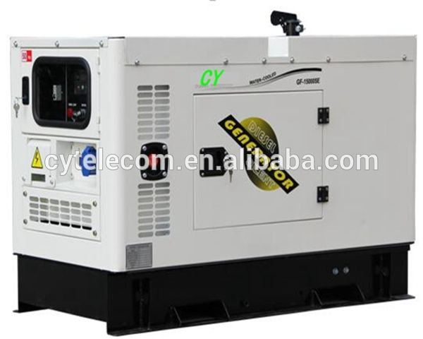 Water Cooled 10kva Silent Diesel Generator Diesel Generators Generator House Power Generator