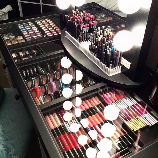 Pin for Later: This Scrapbook Cabinet Is a Genius Storage Solution For Beauty Hoarders
