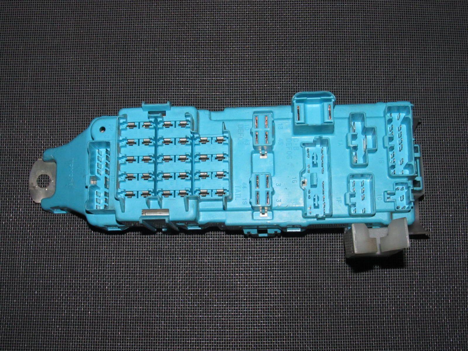 hight resolution of 86 92 toyota supra oem interior fuse box autopartone com products