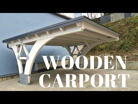 Making Of Glulam Carport Youtube Wooden Carports Carport Carport Canopy