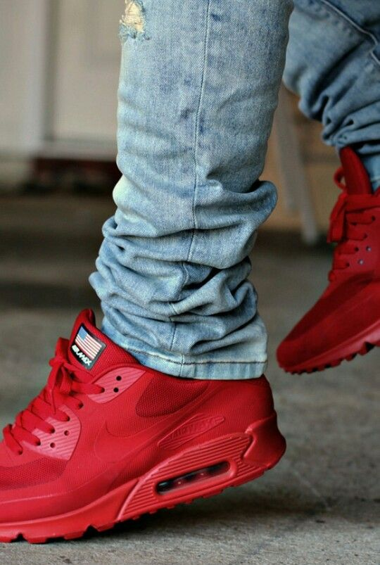 nike air max 90 independence day red