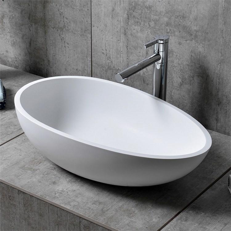 洗面ボール 手洗い鉢 洗面器 洗面ボウル 人造石 排水栓 排水トラップ付