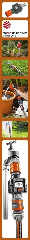 Gardena Wassermengenzahler Praktischer Wasserzahler Zur Anbringung Am Wasserhahn Oder Verbrauchs In 2020 Wasserhahn Praktisch Hahnchen