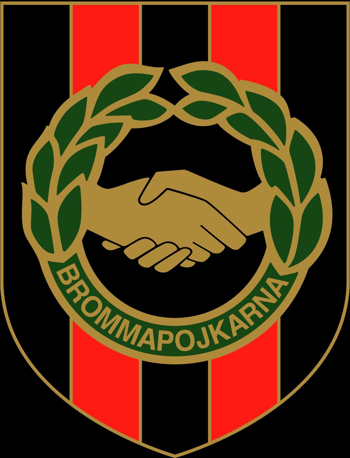 If Brommapojkarna Logo Allsvenskan Sweden Football Logo Sweden Football Logos