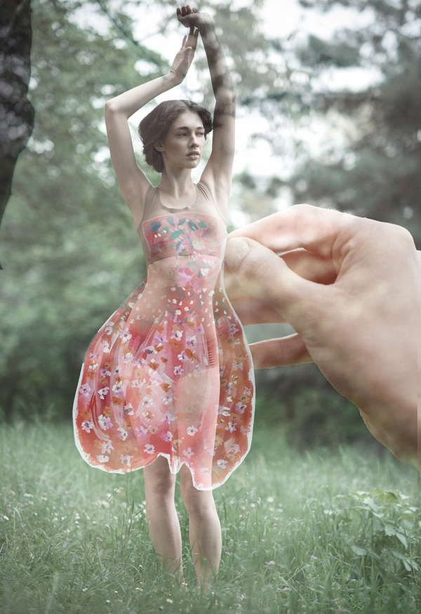 Paper Doll-Like Photography
