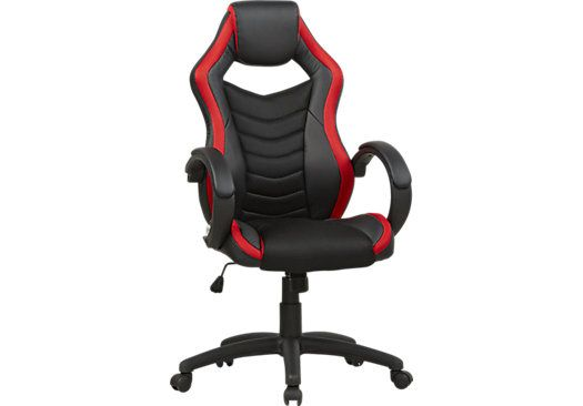 Astonishing Venture Quest Black Red Gaming Desk Chair In 2019 Desk Creativecarmelina Interior Chair Design Creativecarmelinacom
