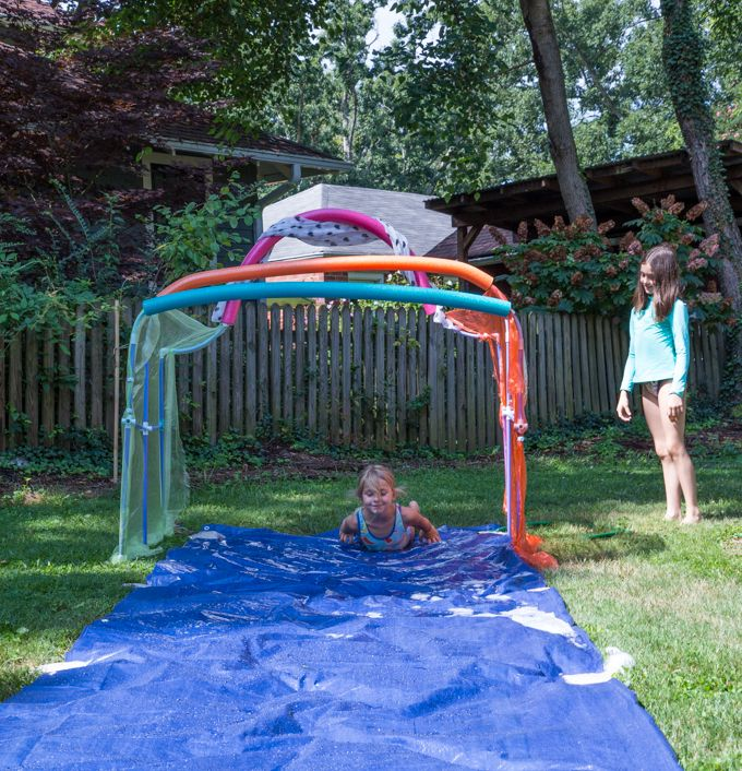 Make Your Own Obstacle Course For Kids (and DIY Slip N
