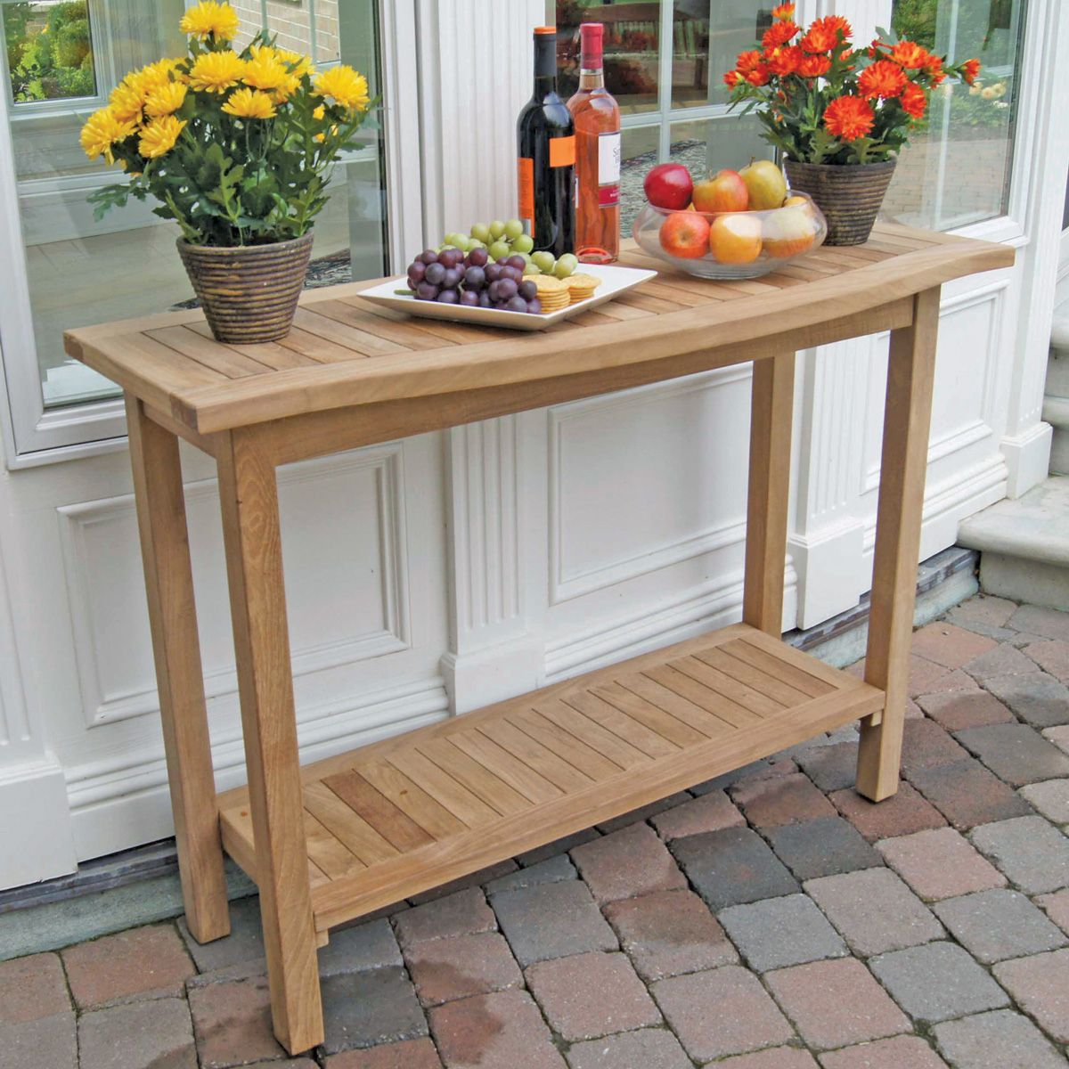 Teak Buffet Table Made From Premium Plantation Teak | Thos. Baker