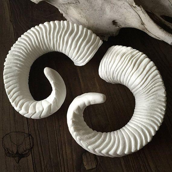 Diy Large Ram Horns Satyr Fantasy Horns Costuming Department