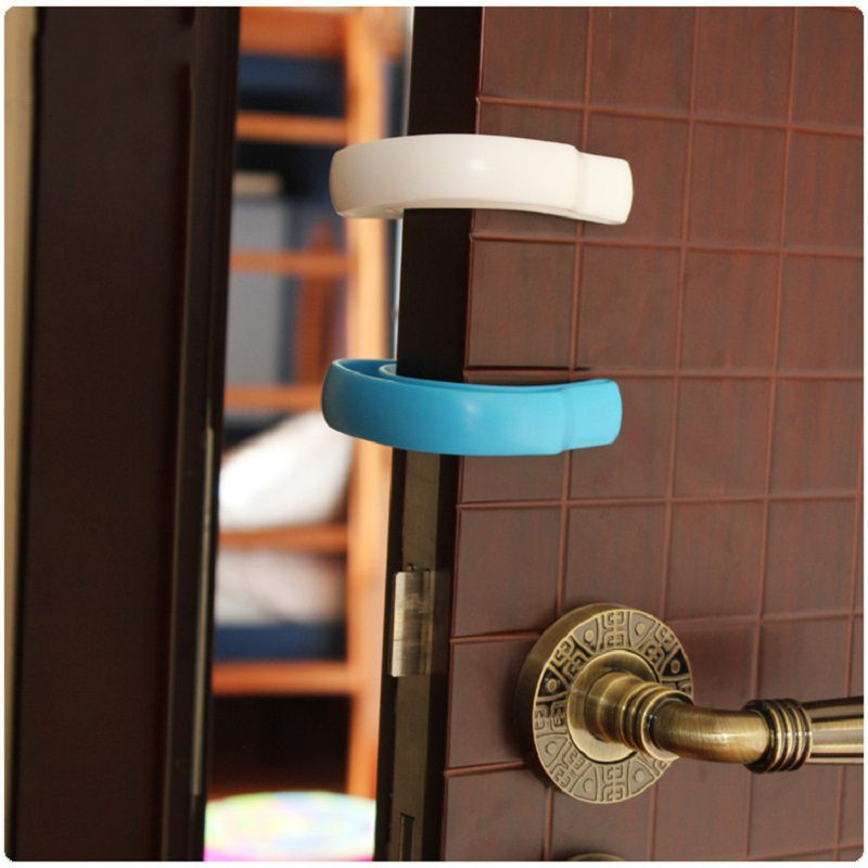19935487; Two Pieces Anti-pinch Hand Children Safety Clip Th…