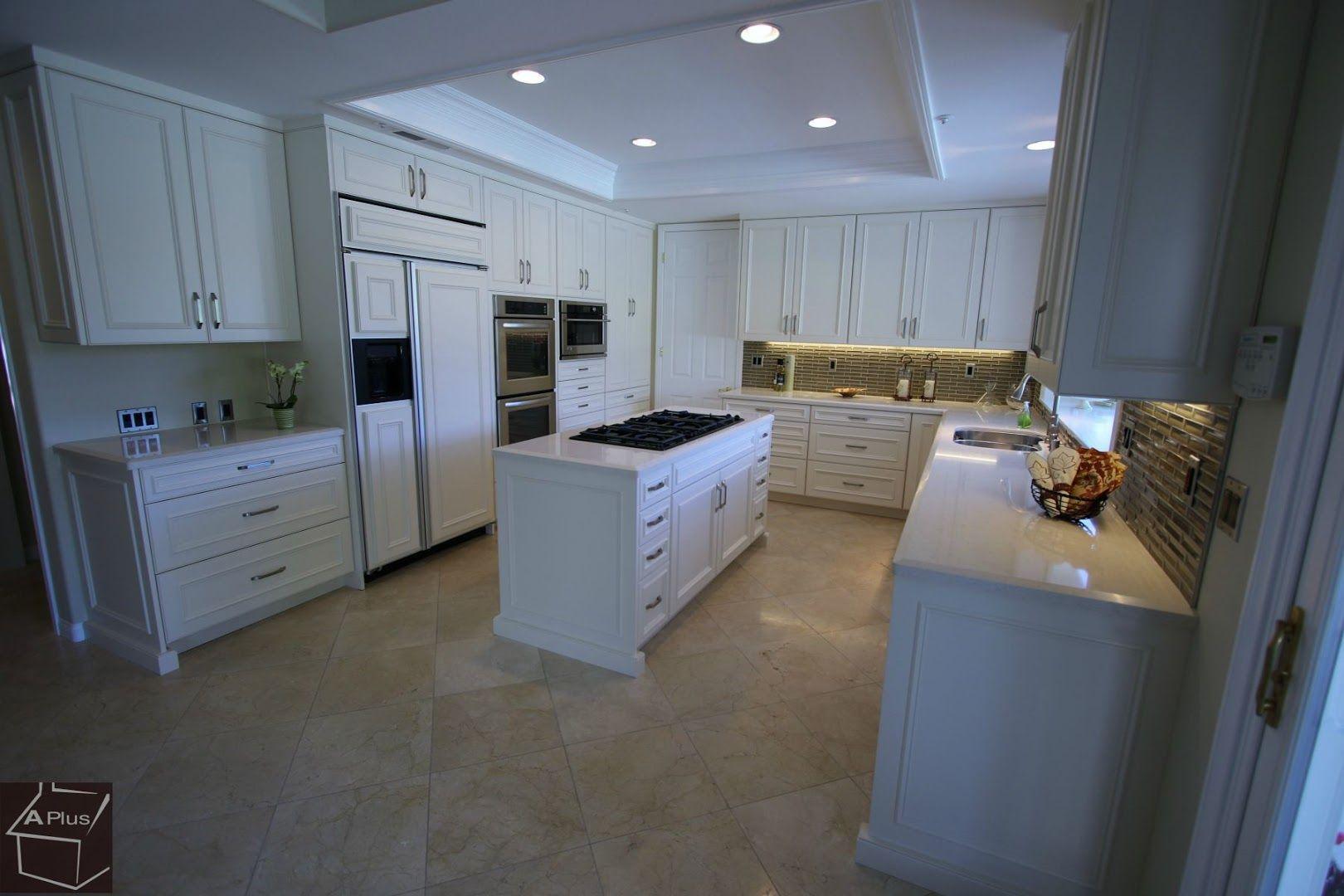 Classic style, Traditional Design Build #kitchenRemodel with custom White Aplus #Cabinets in Coto De caza, #OrangeCounty