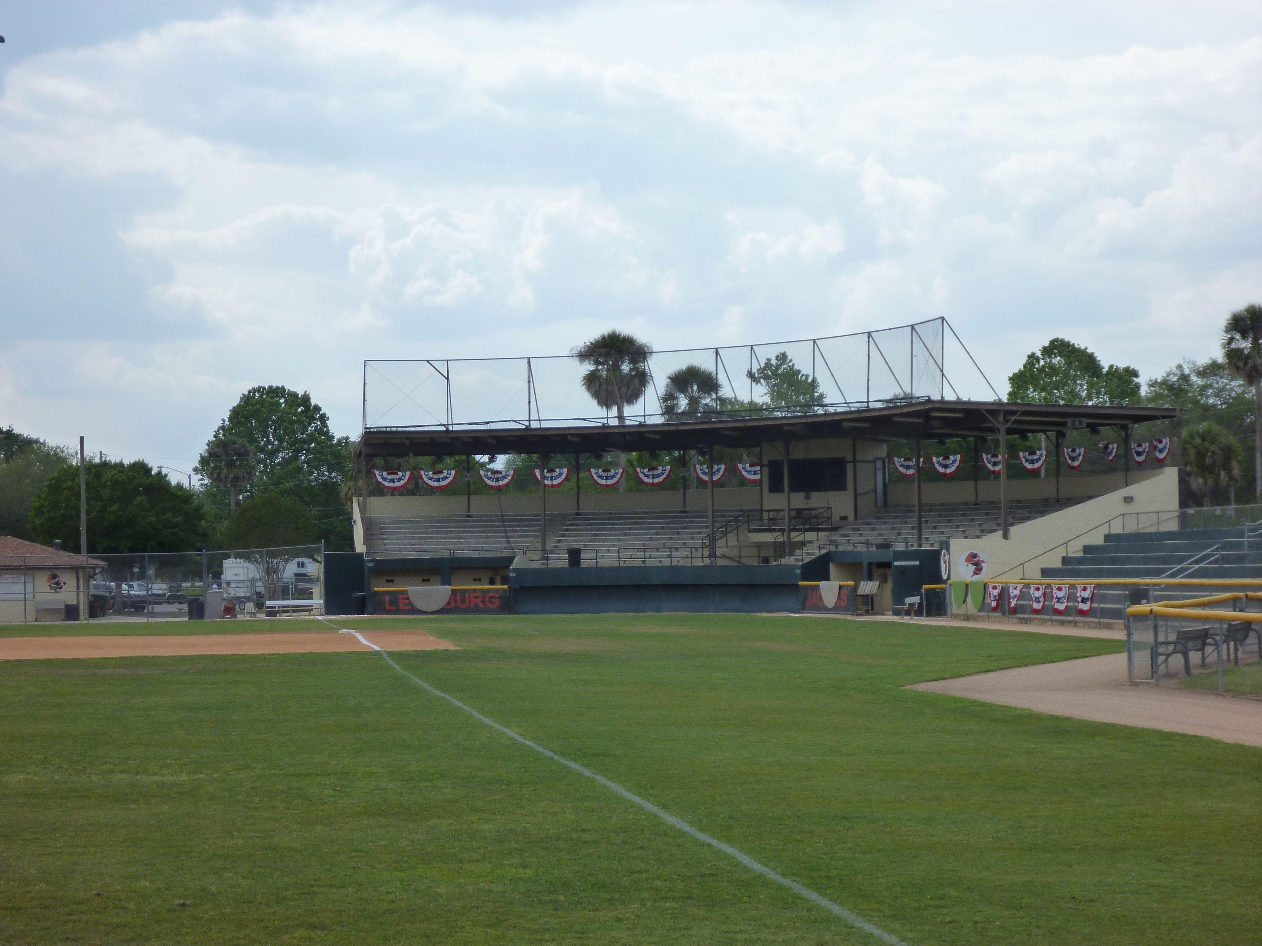 Pat thomas stadium leesburg fl built in 1937 and home