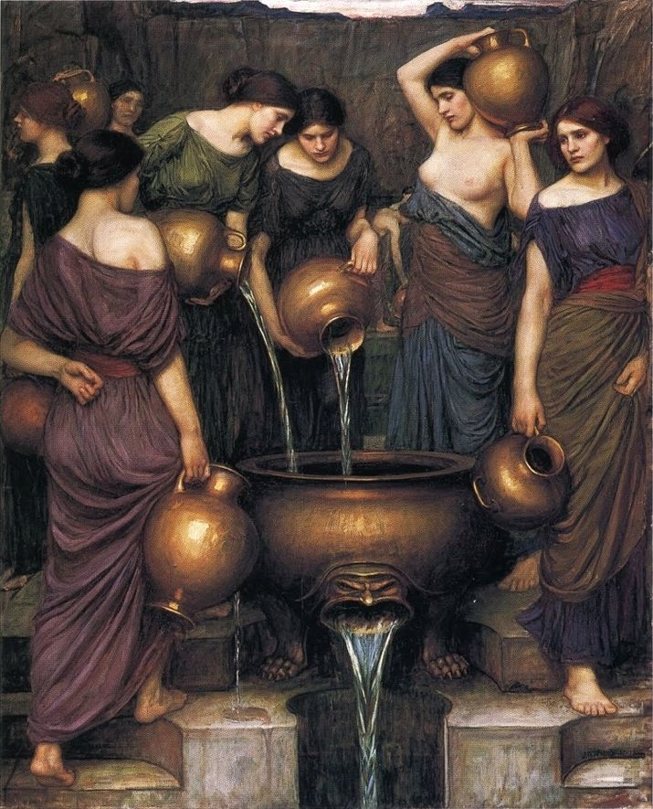 """The Danaides"" by John William Waterhouse"