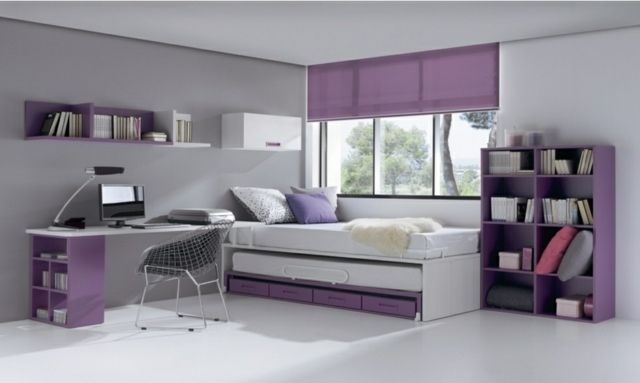 d coration chambre ado moderne en quelques bonnes id es. Black Bedroom Furniture Sets. Home Design Ideas