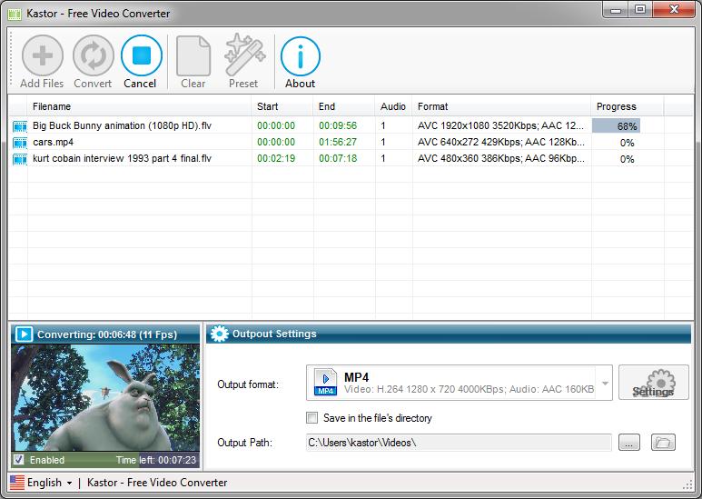 Any video converter latest version Free video converter