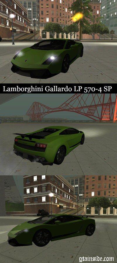 Autos Para Gta San Andreas Y Trucos De Pc Lamborghini Gallardo Lamborghini Maira