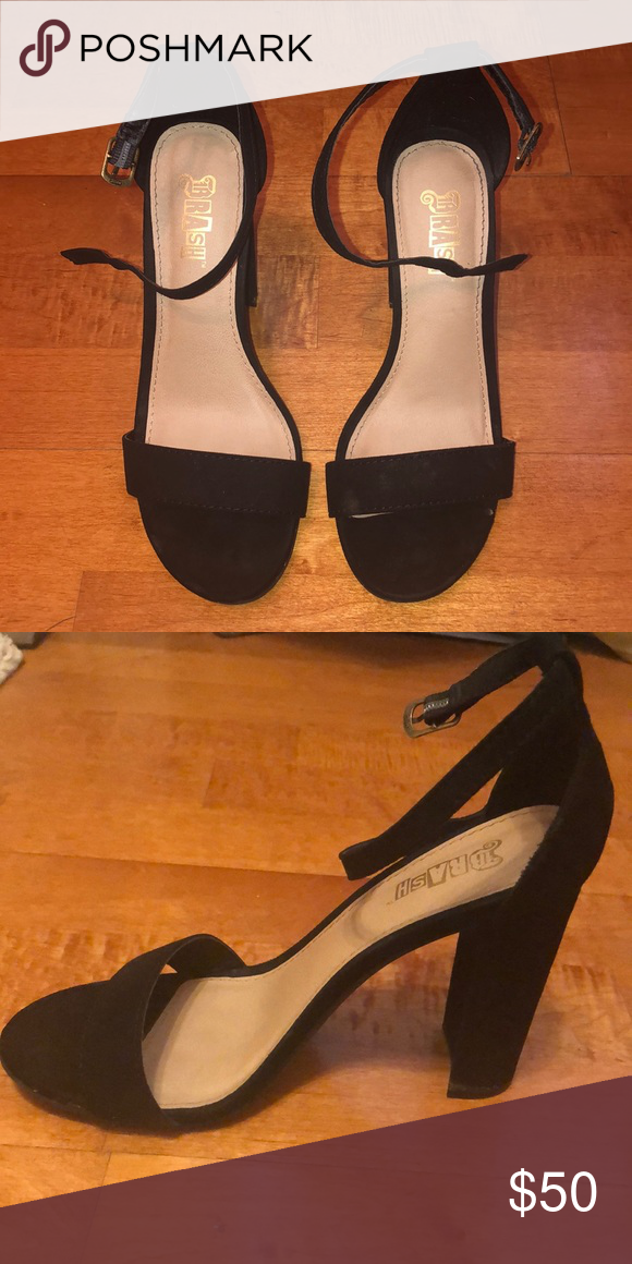 Black Dress Heels Only Worn Once Black Dressy Heels That Will Perfect For Any Event 3 5 Inches Tall Dress And Heels Black Dress With Heels Dressy Heel