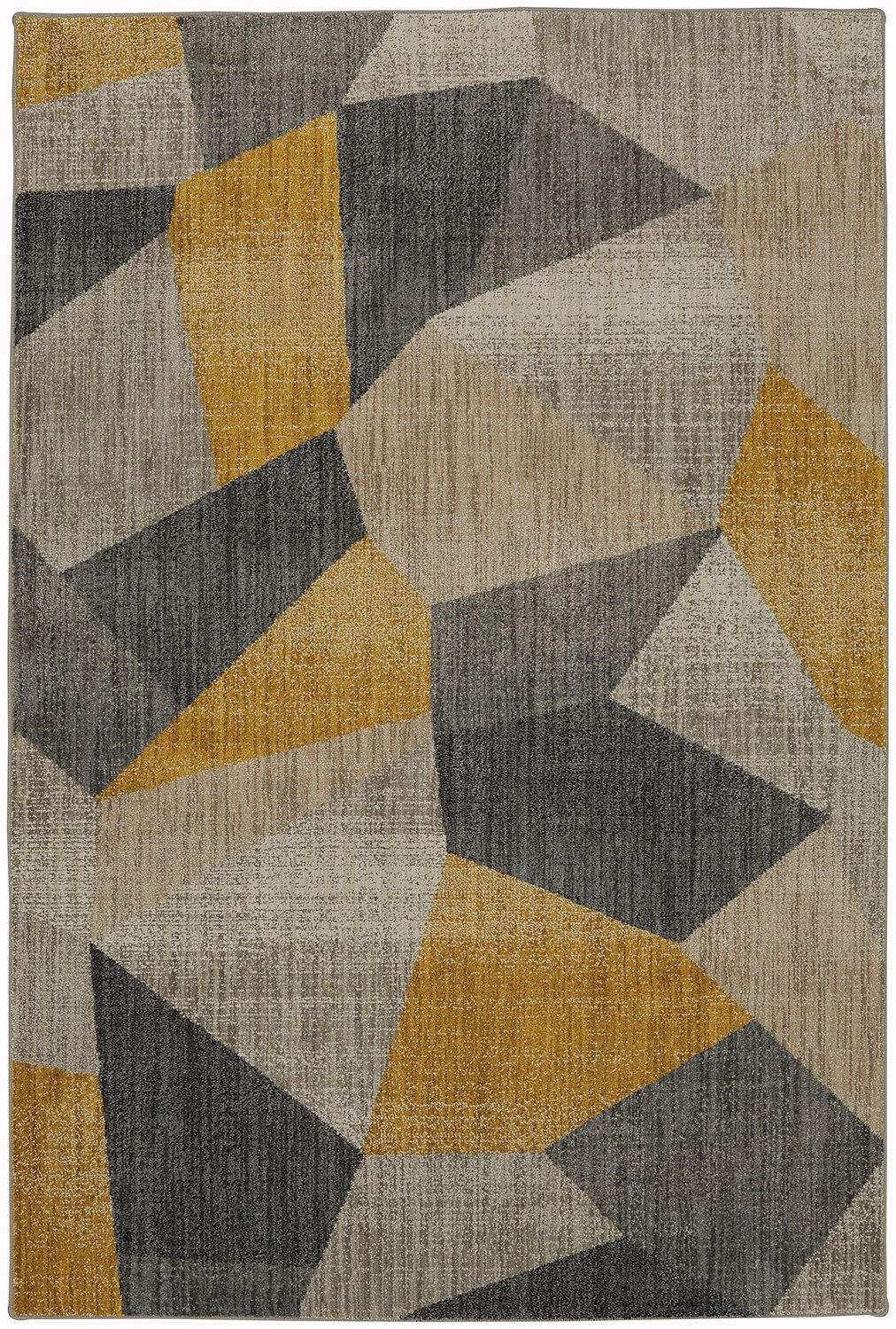 Metropolitan Gray Black Yellow Area Rug Products Rugs Rugs In