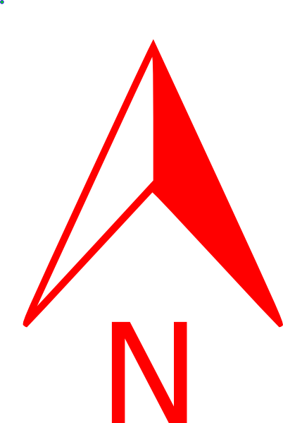 Image Result For Red North Arrow Arrow Symbol Glyph Icon Image
