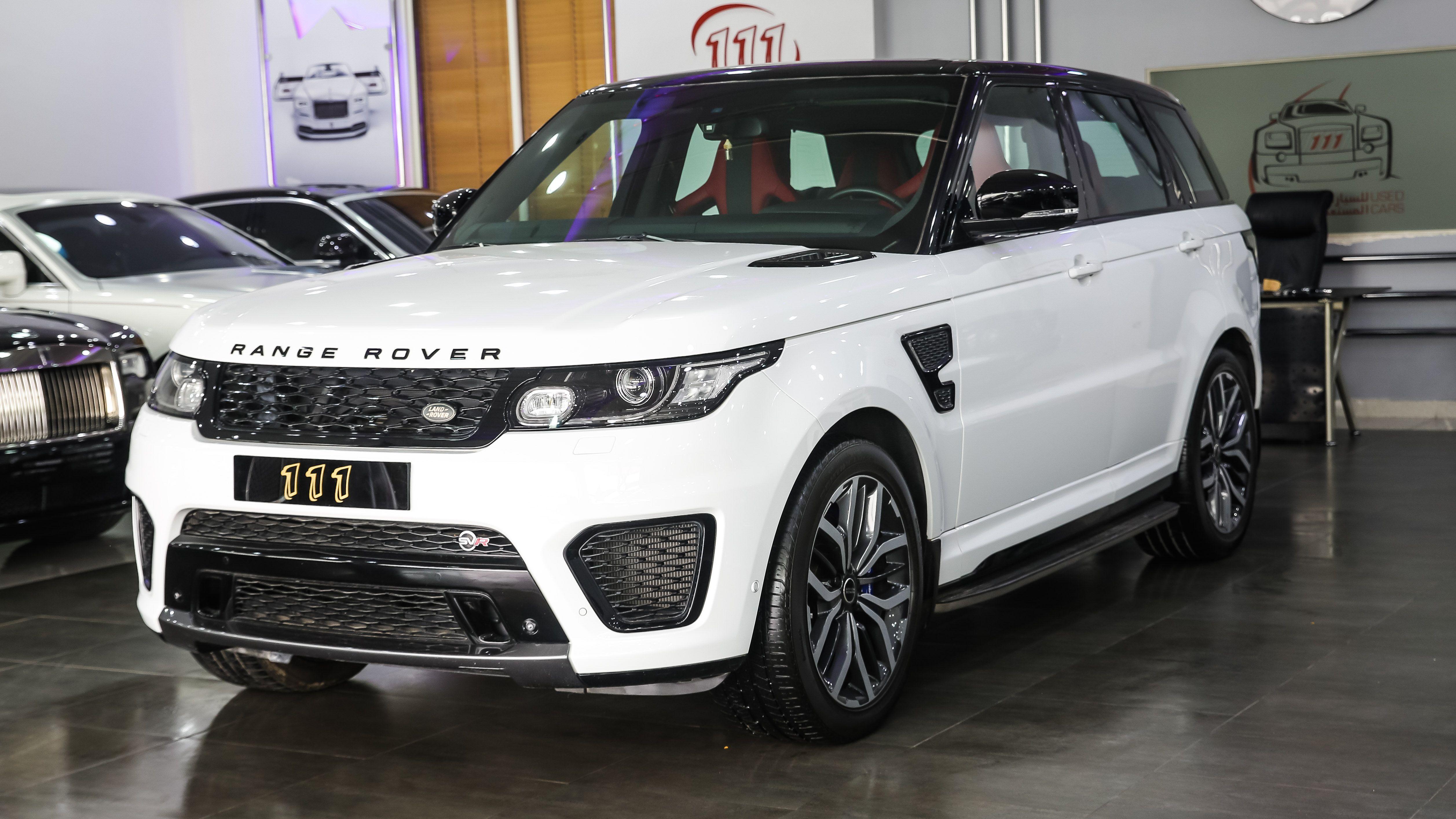 2015 Range Rover Sport SVR / GCC Specifications in 2020