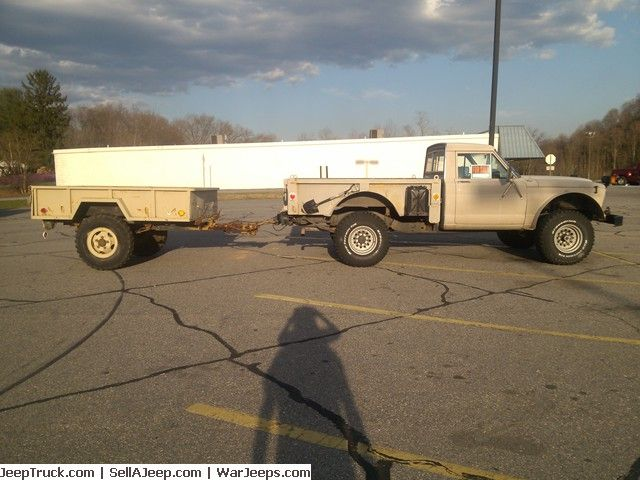 1988 jeep j20 with m101 trailer full size jeep pinterest used jeeps and jeep parts for sale 1988 jeep with trailer publicscrutiny Image collections