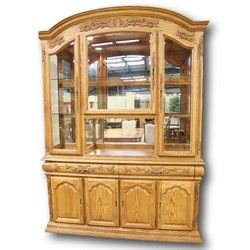 Genial Summit Furniture Oak China Cabinet
