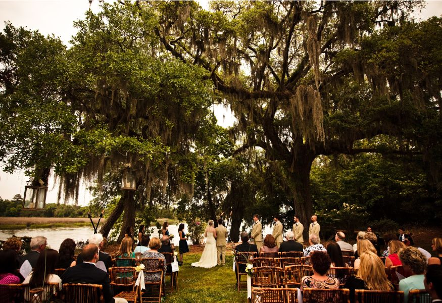 Carriage House And Lawn Magnolia Plantation Charleston SC