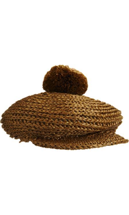 Burberry Raffia Golf Cap