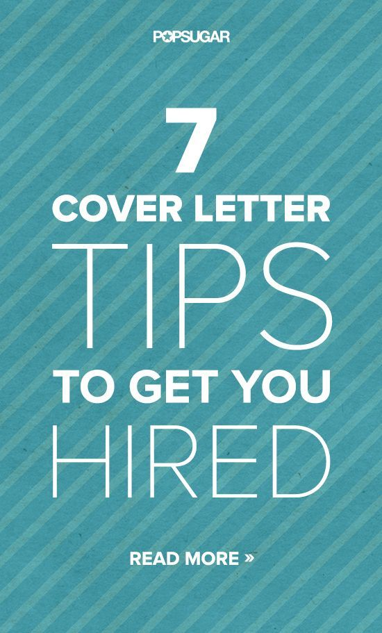 catch a recruiters eye with these 7 cover letter tips - How To Make The Perfect Cover Letter