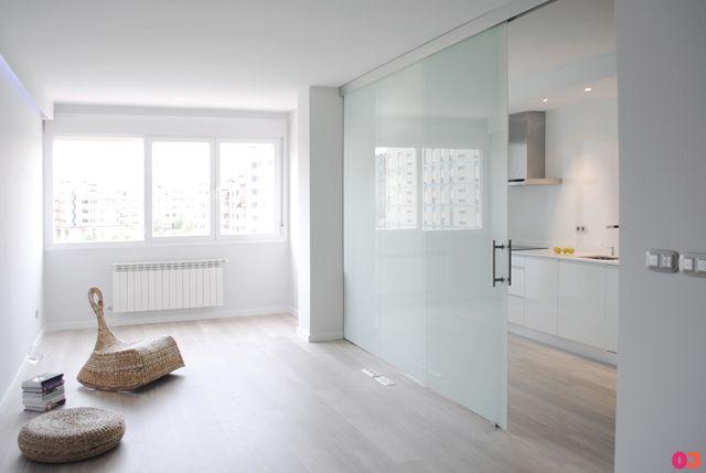 Puerta cristal con butiral lavaderos vidrios en 2019 for Puertas correderas comedor