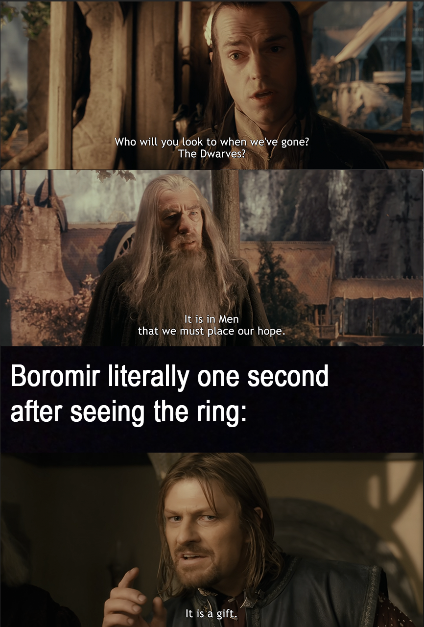 When You Run Out Of Toilet Paper In 2020 Lotrmemes