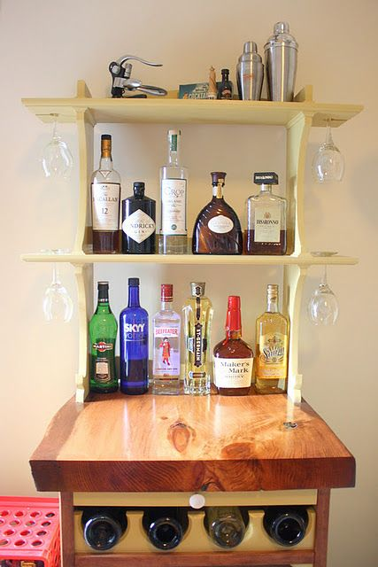 Love This Custom Mini Bar