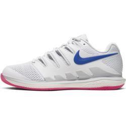 Photo of NikeCourt Air Zoom Vapor X Women's Hard Court Tennis Shoe – Silver NikeNike
