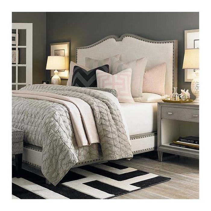 Nebraska Furniture Bedroom Sets Bedroom Sets Dubai Bedroom Design Cozy Colours Shade For Bedroom: Presidio Upholstered Bed In Cloud Grey