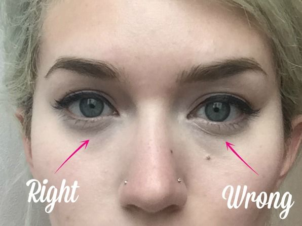 How To Stop Your Under Eye Concealer From Creasing Face