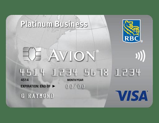 Visa Business Platinum Avion Business Credit Card Fees Credit Card Benefits
