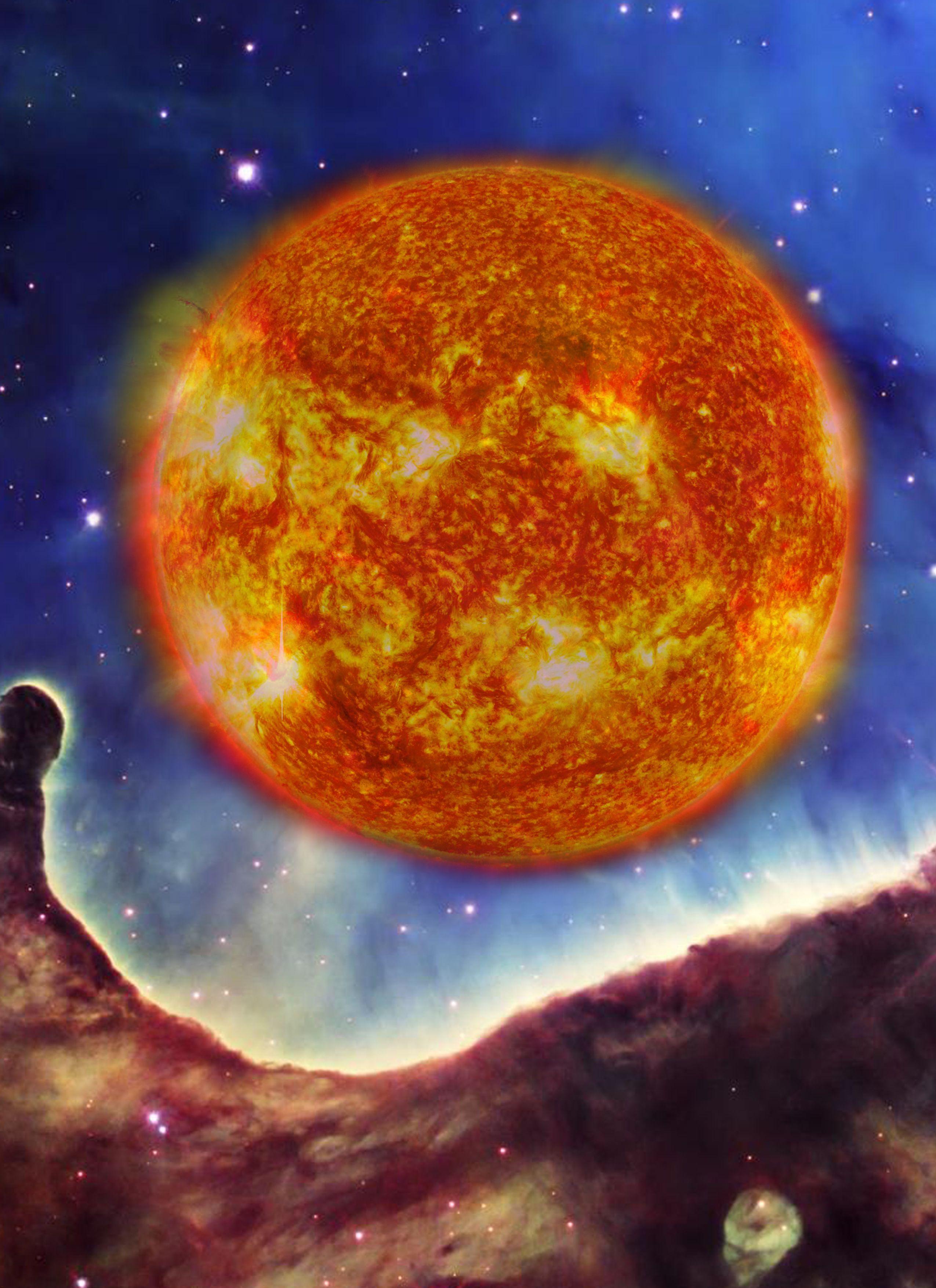 Supergiant Star Type: M - Arcadia - Cheryl Feeley