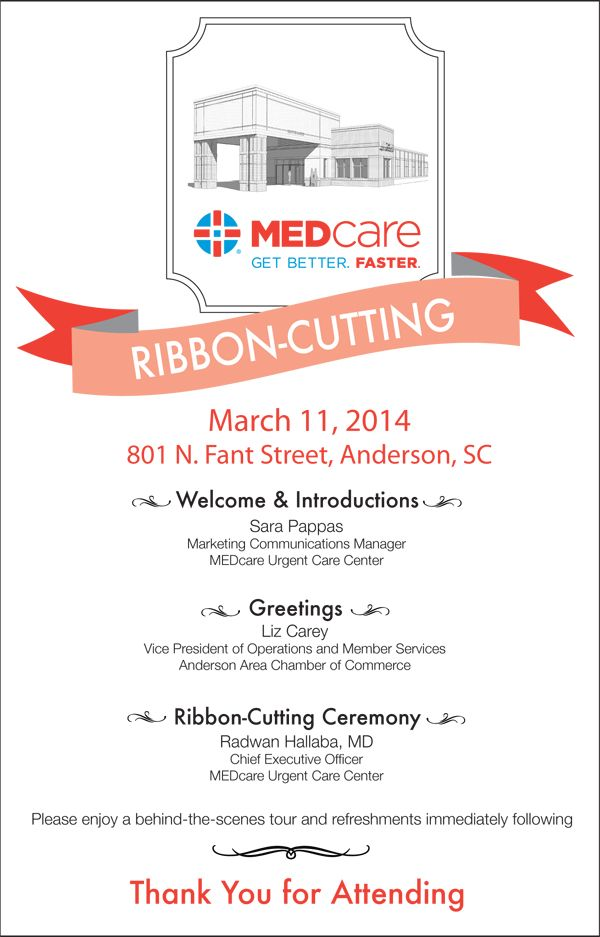 Sample Ribbon Cutting Invitations | Circle Bank 999 Grant Ribbon ...