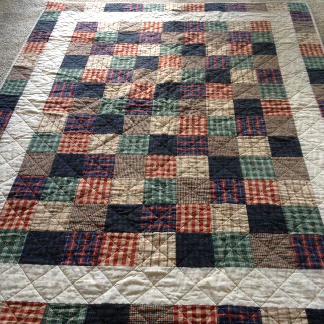 Flannel quilt 2010
