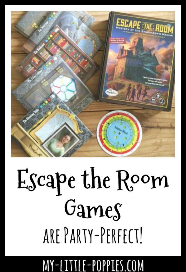 Thinkfun S Escape The Room Games Are Party Perfect School Fun