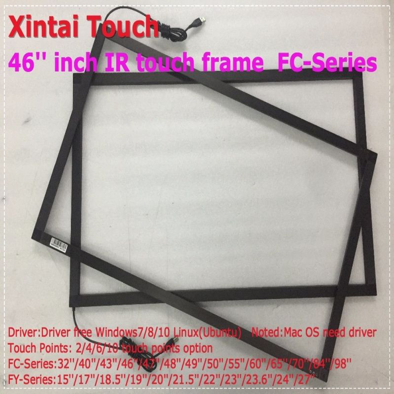 cheap touch screen overlay kit buy quality touch screen frame directly from china multi touch suppliers fast shipping 10 real fingers points ir multi - Window Screen Frame Kit