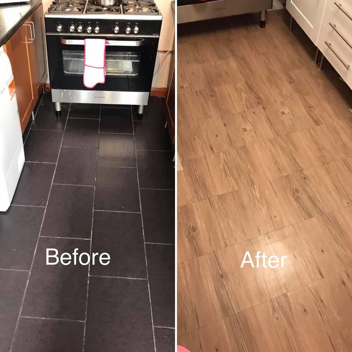 Not In With Your Floor Tiles Cover Them Over Using One Of Our Self Adhesive Vinyl Floor Tile Designs Our Cu In 2020 Floor Tile Design Vinyl Flooring Easy Flooring
