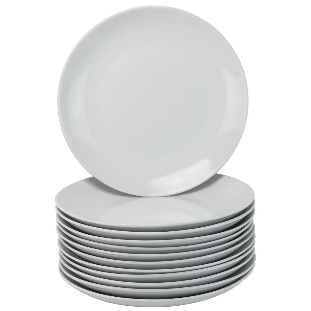 10 Strawberry Street 10 5 In White Catering Pack Coupe Dinner Plates Set Of 12 Catering 12cpdin The Dinner Catering Dinner Plate Sets 10 Strawberry Street