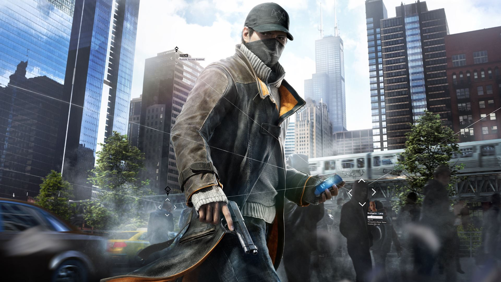 Watch Dogs Aiden Pearce Best Wallpapers
