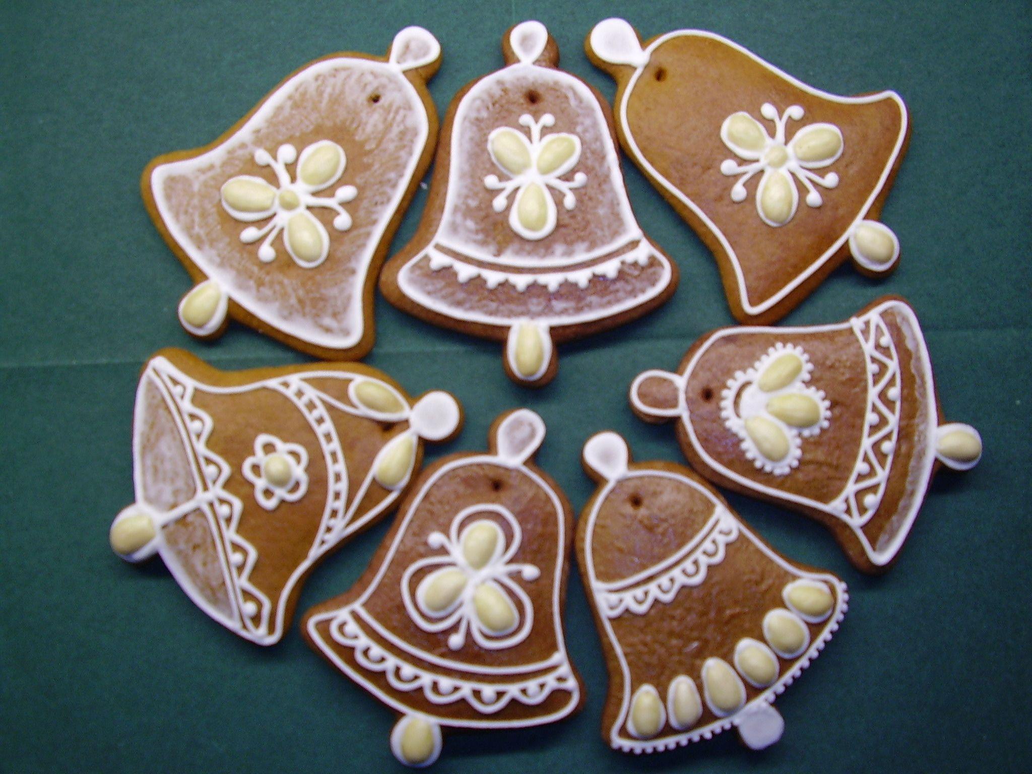 zdobené mandlemi