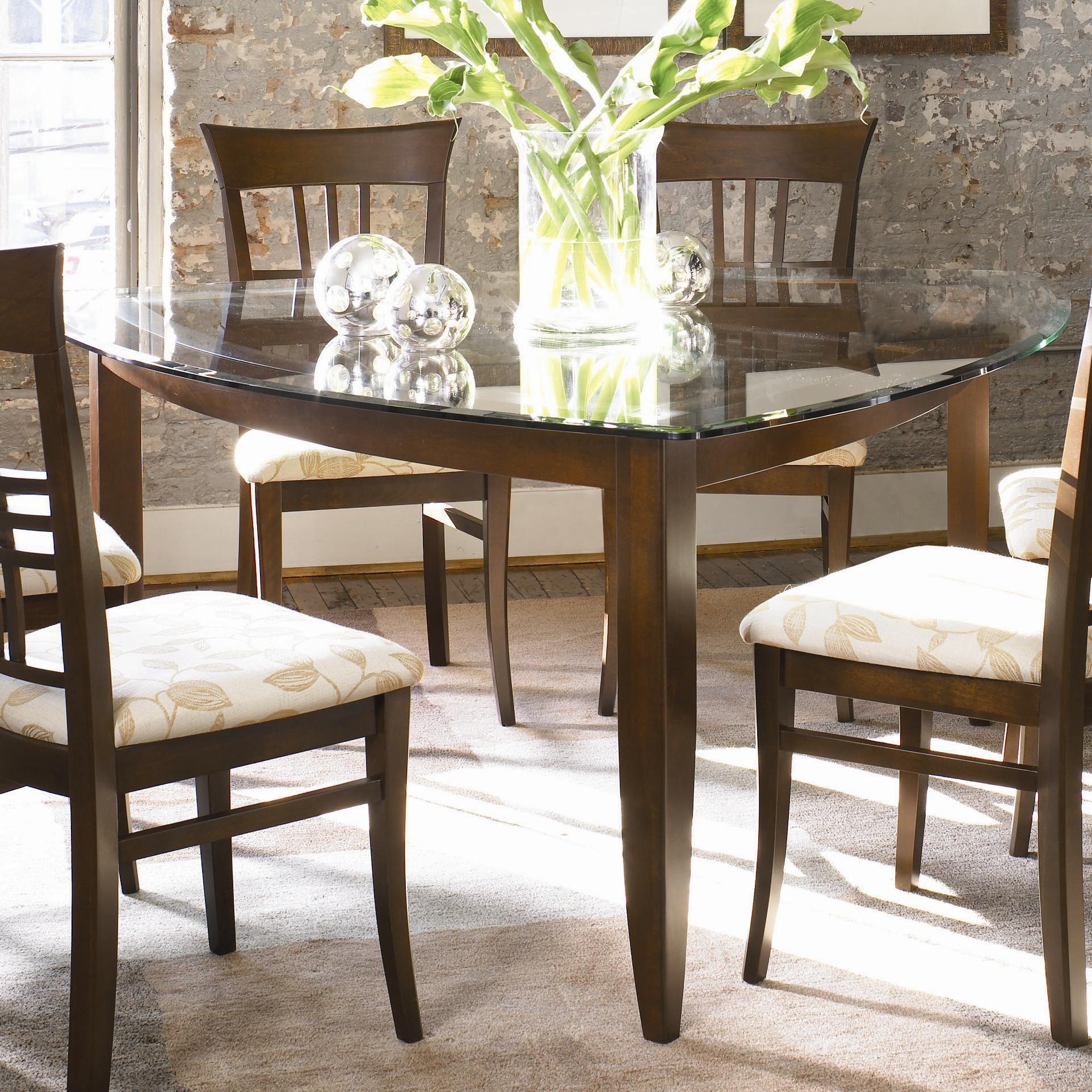 Color Café   Custom Dining U003cBu003eCustomizableu003c/Bu003e Triangular Table By  Thomasville®