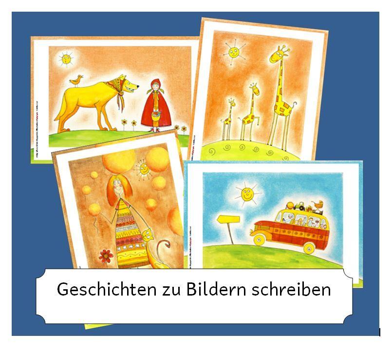 geschichten zu bildern schreiben f r deutsch grundschule grundschule schule und. Black Bedroom Furniture Sets. Home Design Ideas