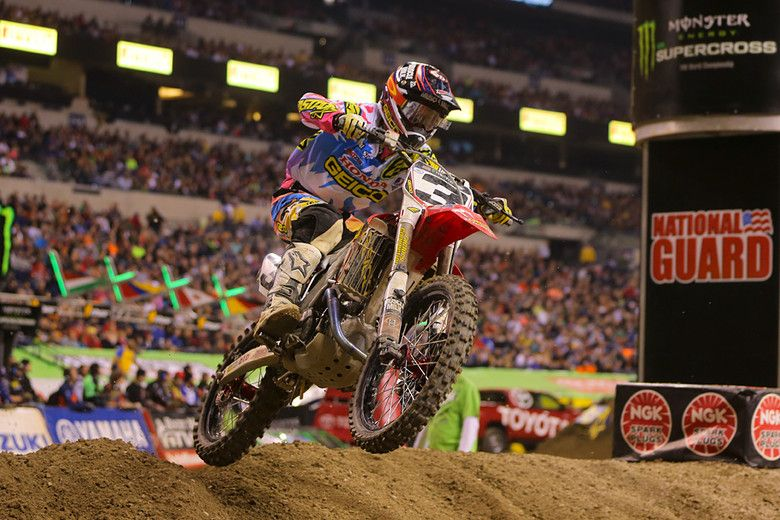 2. Eli Tomac (GEICO Honda) put in his best ride of the season...sort of what you thought you'd see from him early in the campaign...except f...